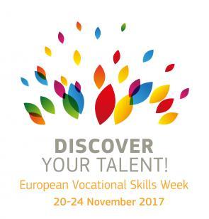 Afbeelding van het logo van de VET Skills Week