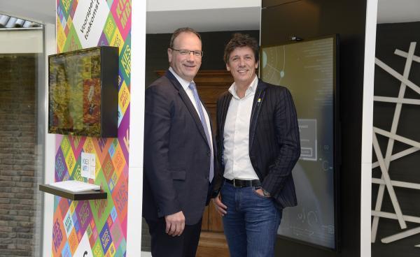 MBO Raad-voorzitter Ton Heerts met MKB-Nederland-voorzitter Jacco Vonhof