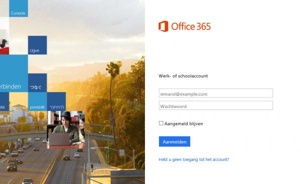 Inloggen office 365