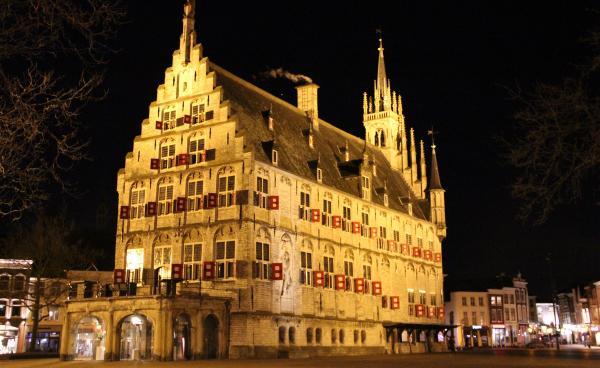 Afbeelding van stadhuis Gouda - (Flickr.com, CC-licentie)