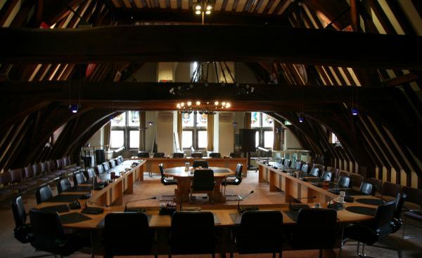 Afbeelding van stadhuis Gouda - Flickr.com, CC-licentie, Bertknot