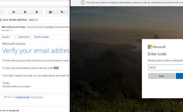 Verifieer e-mailadres