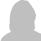 Silhouet profielfoto vrouw