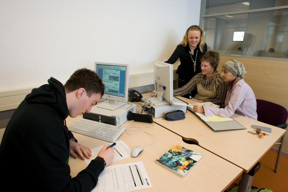 Studenten van ROC Friese Poort