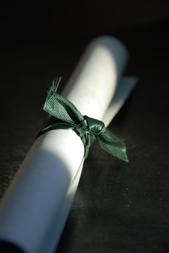 Afbeelding van diploma