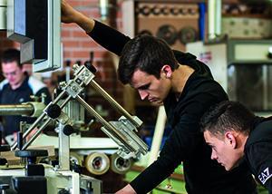 MBO studenten van het Friesland College, fotograaf Maartje Roos
