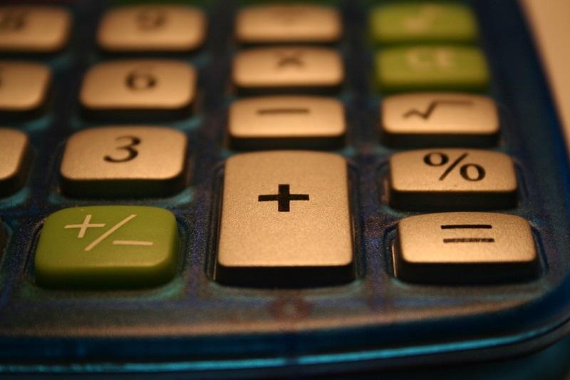 Afbeelding van rekenmachine, Flickr.com, CC-licentie Ben Roberts