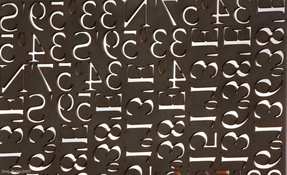 Getallen. Afbeelding van Flickr.com, Creative Commons-licentie, Greg Purvis
