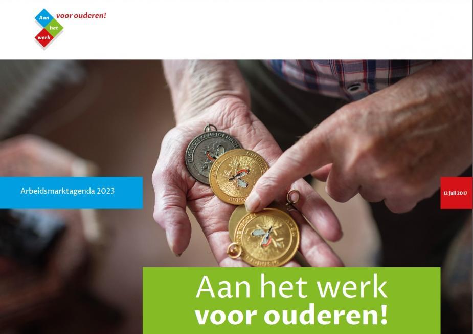 Afbeelding van Aan het werk voor ouderen