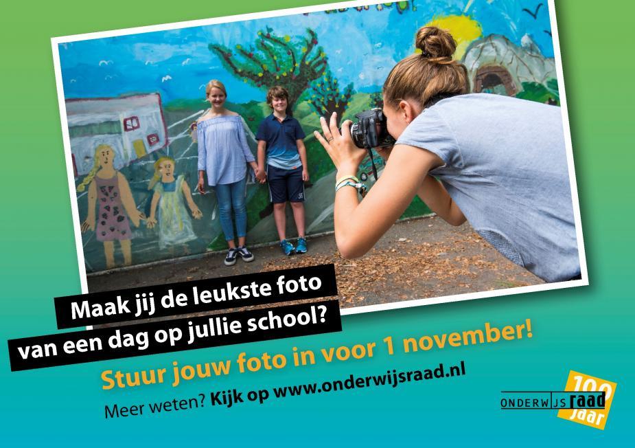 fotowedstrijd Onderwijsraad