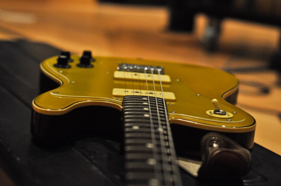 Afbeelding van gitaar, Flickr.com, creative commons-licentie, implab