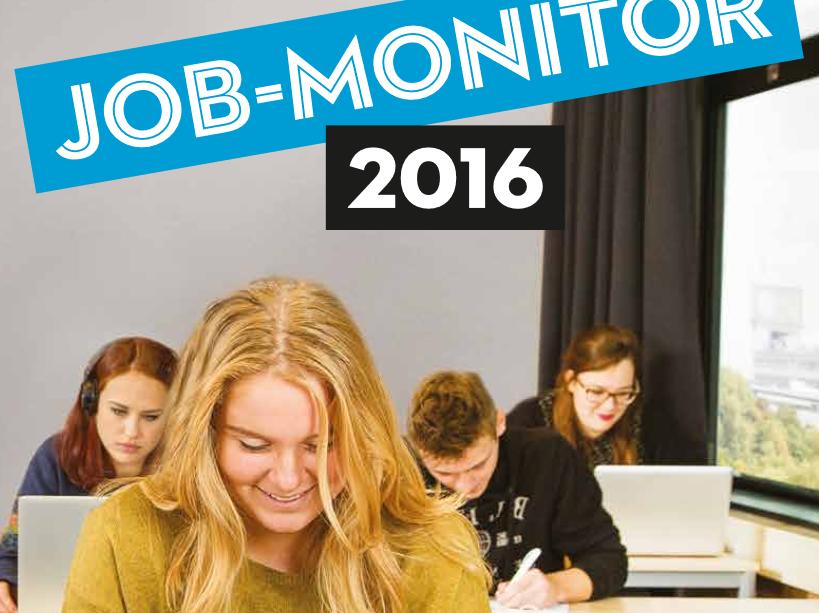 Afbeelding van de JOB-monitor 2016