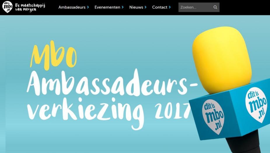mbo Ambassadeursverkiezing