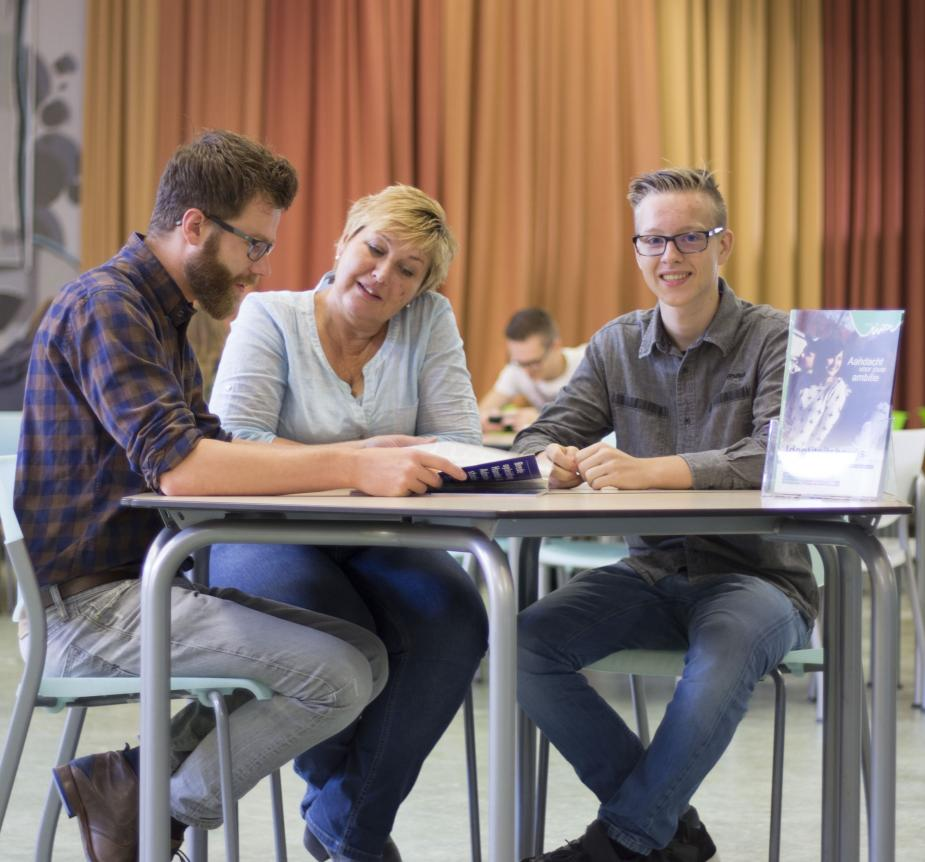 Studenten van ROC Rivor