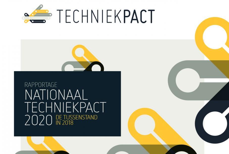 Afbeelding van rapport over tussenstand Techniekpact