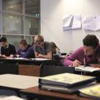 Afbeelding van studenten op het Friesland College, Maartje Roos