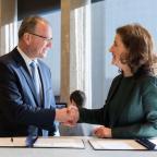 bestuursakkoord, ondertekening klein