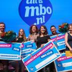 Afbeelding van alle winnaars van het Ambassadeursgala mbo