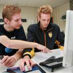 Studenten op het ID College