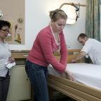Afbeelding van een student verpleegkunde