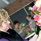 Afbeelding van student Wellant College die bloemenschikt