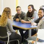 Afbeelding van studenten op ROC Mondriaan