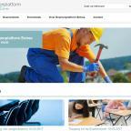 Afbeelding van website Stichting Examenplatform Entree