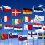 Afbeelding van vlaggen van de Europese Unie - Flickr, CC-licentie, Olga Lednichenko